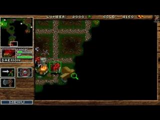 Прохождение Warcraft: Orcs & Humans - Orcs Campaign Gameplay Mission #12 FINAL