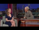 Scarlett Johansson - Late Show with David Letterman (2014)