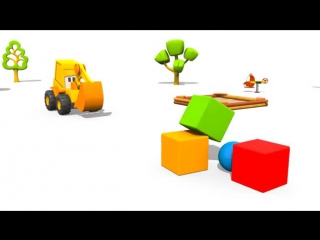 Kid's CONSTRUCTION TOYS CHRISTMAS MUSIC! Excavator Max's Song! Educational Music Videos for Children