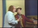 Tiny Tim sings with Michael Townsend Wright