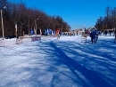 Старт лыжной гонки на 5 км среди ССУЗов 2015