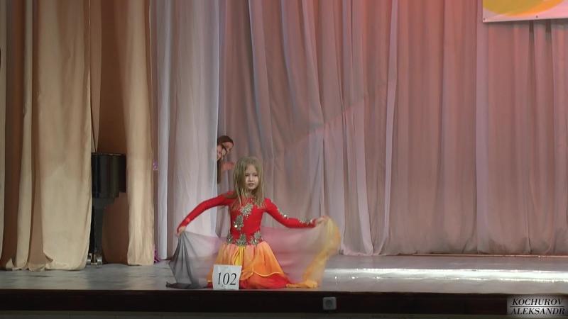 беби соло-дебют Анастасия Кочурова (импровизация и танец)