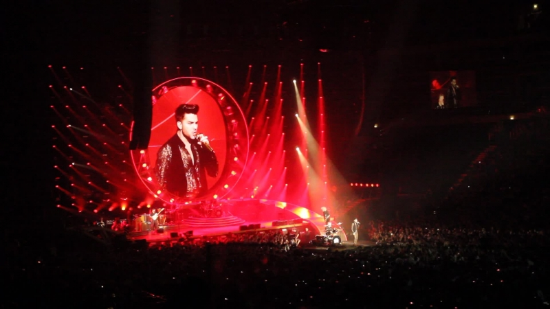 17/02/15 Прага концерт Queen Adam Lambert