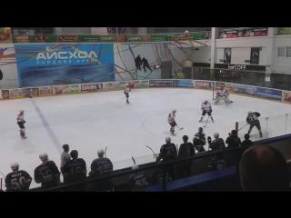 Чемпионат Украины 2015, ХК Витязь - ХК АТЕК, гол от Виталия Литвиненко