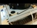 Танк Тигр,  механическая имитация звука двигателя тест 1
