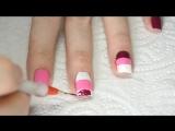 Дизайн ногтей со скотч лентой
