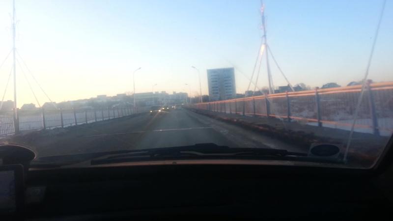 Дорога между Костанаем и ЗТБ