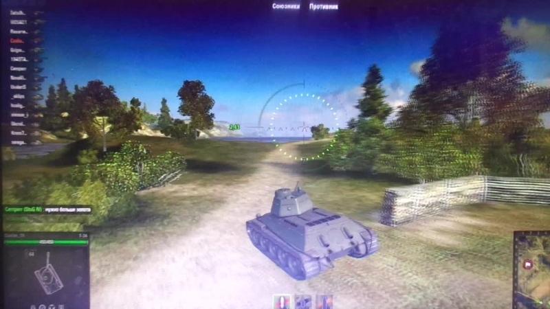Games Coelian`a (29) - WoT юнит Т-34-57 (СССР) - 20..02.2015, японская музыка побуждает стать камикадзе...