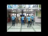 Пожарно-спасательный флешмоб в аэропорту г. Салехарда