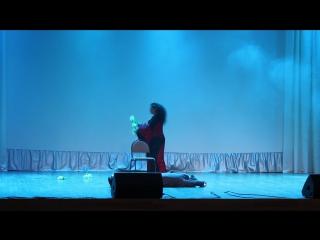 "Comedy Bellydance-""Arabika"",Penza. Anna Verhoglyadova and Hozina Anna"