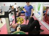 Русский жим в Тушино Алексей Сысоев (Печенька) 75 кг
