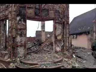 Последствия штурма Углегорска 04 02 2015 18+
