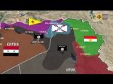 Ближневосточный конфликт на интерактивной карте - наглосаксы как источник межнациональных и межконфесиональных конфликтов
