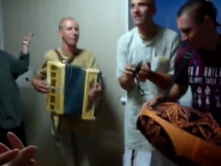 Ukrainian Hare Krishna Харе Кришна в милиции