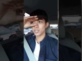 160919 Taecyeons Periscope : Theres a traffic jam, so live broadcast