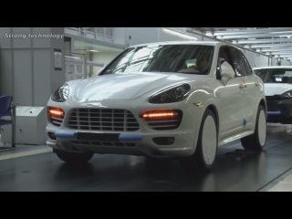 Porsche Cayenne Production and Porsche Panamera Production