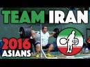 Team Iran - Full Session @ 2016 Asian Championships (April 27th)