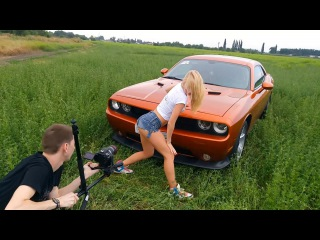 Backstage ЛТКиК Dodge Challenger Twerk Hot blonde