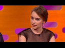 Emilia Clarke watched her nude scene with parents – The Graham Norton Show: Preview - BBC One