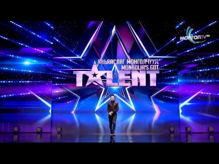 Танцор из «Шоу талантов Монголии» Б. Шижирбат пробрал зрителей до мурашек