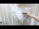Как сшить платье с эффектом обнаженного тела.Люневильская вышивка (заключительный урок)