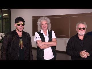 """สุดยอดวงร็อคระดับตำนาน """"Queen"""" พร้อม """"Adam Lambert"""" เดินท&#3634"""