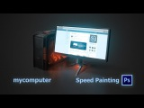 mycomputer.ico  Asabin Art (speed painting)