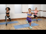 Jeanette Jenkins - Fat-Burning Cardio Sculpt Workout | Джанет Дженкинс - Интервальная аэробно-силовая тренировка
