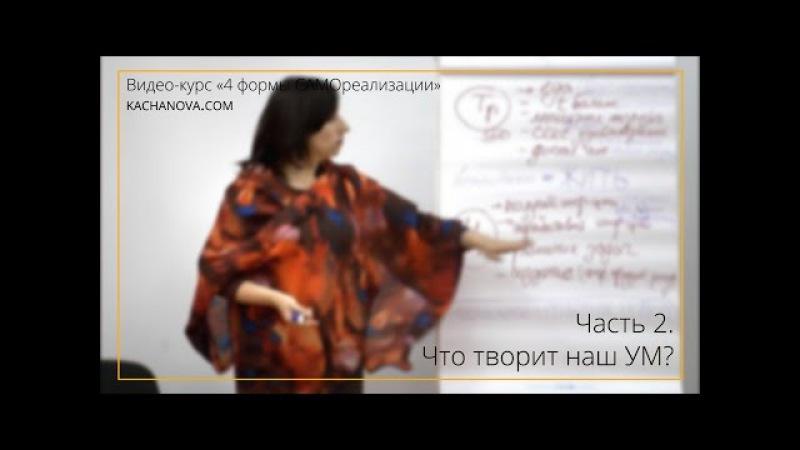Что творит наш УМ? | Видео-курс «4 формы САМОреализации» ч.2
