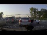 Новосибирск. Танцы в пробке. 11.06.2016 г.