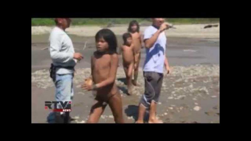 В джунглях Амазонки обнаружено неизвестное племя