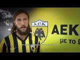 Ο Ντμίτρο Τσιγκρίνσκι  στο AEK TV (video DreamMaster Production)
