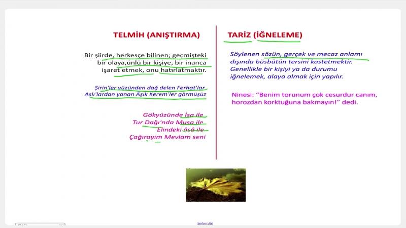 YGS-LYS EDEBİYAT - Söz Sanatları 4