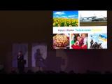 Выступление Елены Данчук на 5 Международной Конференции Holisting Корпорации S.O.V.A.