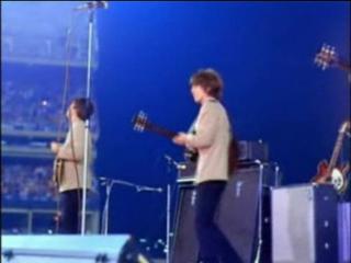 THE BEATLES - Twist And Shout, I File Fine (1965) Shea stadium