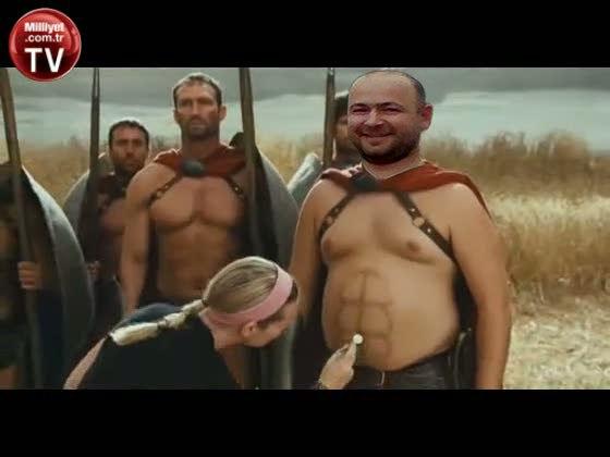 Знакомство со спартанцами - остроумная кинопародия на знаменитый фильм 300 спартанцев