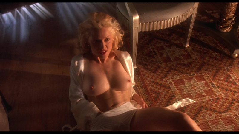 Madonna Nude Body of Evidence