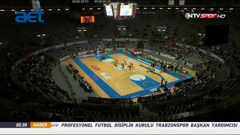 22 Eylül 2016 Hazırlık Maçı Fenerbahçe Lokomotiv Kuban 2. Çeyrek