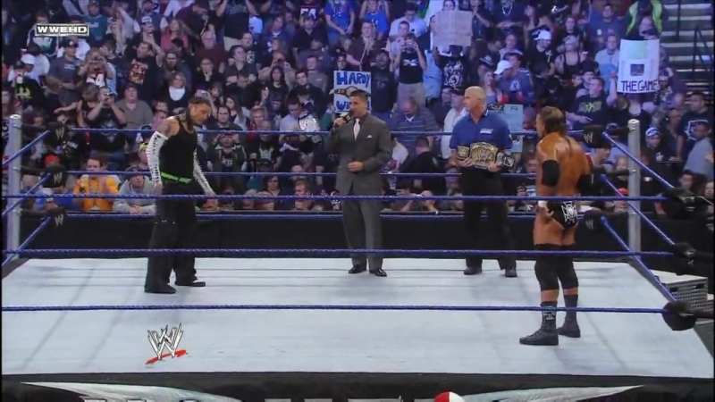 (WWEWM) Трипл Эйч пр. Джефф Харди (05.10.2008, No Mercy)