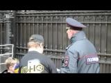 В День Независимости Украины российская полиция не дала провести акцию