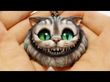 Polymer clay - Cheshire Cat - Part 1