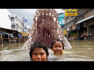 Croczilla New Hollywood Action Movie In Hindi Dubbed (Clear Voice)
