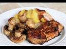 Стейки, шампиньоны и картошка с беконом на мангале Открываем дачный сезон