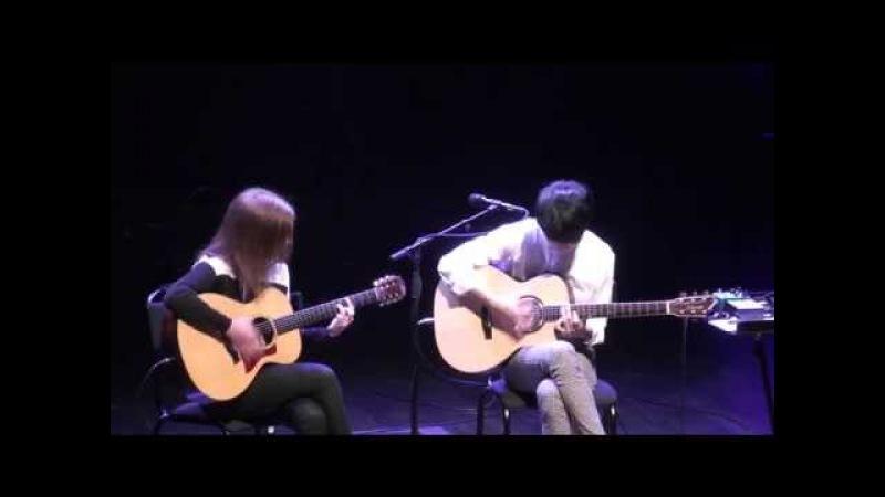 (Depapepe) Start - Gabriella Quevedo Sungha Jung (live)