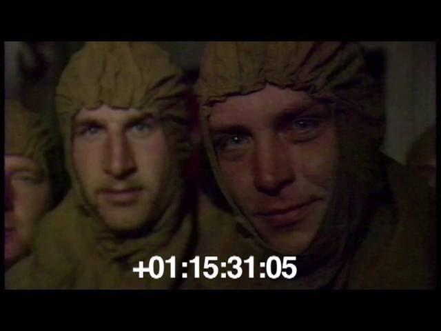 1986.09 Очистка кровель ЧАЭС. Солдаты (резервисты).