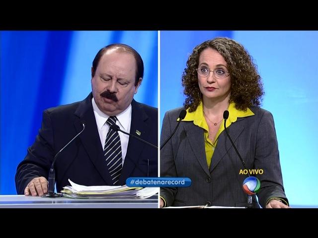 [HD] Levy Fidelix responde sobre casamento gay   Debate Record