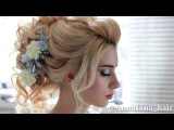 Bridal Updo Wedding Hairstyle Prom Hairstyle Curly look Long Hair