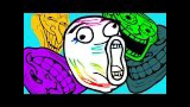 Прикольная игра троллинг мальчик хочет какать для детей Troll face quest