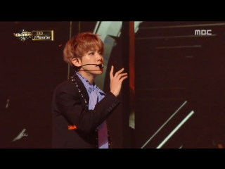170101 EXO - Lotto (Louder) + Monster @ MBC Gayo Daejejeon