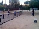 Большой теннис в Харькове Малыши отрабатывают удар слета